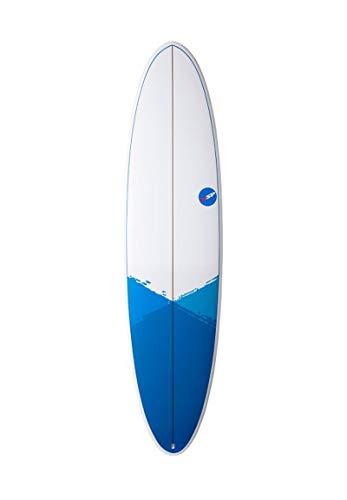 NSP Fun E-Plus Surfboard 2020 - Tabla de Surf, 7'2'