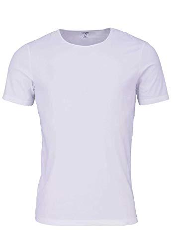 Preisvergleich Produktbild OLYMP Level Five T-Shirt Halbarm Rundhals Stretch weiß Größe XL