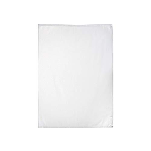 Casa Colori Geschirrtücher - Küchentücher - 100% Baumwolle 50 x 70 cm - Weiß | Trockentuch | Gastronomiebedarf | Serviertuch