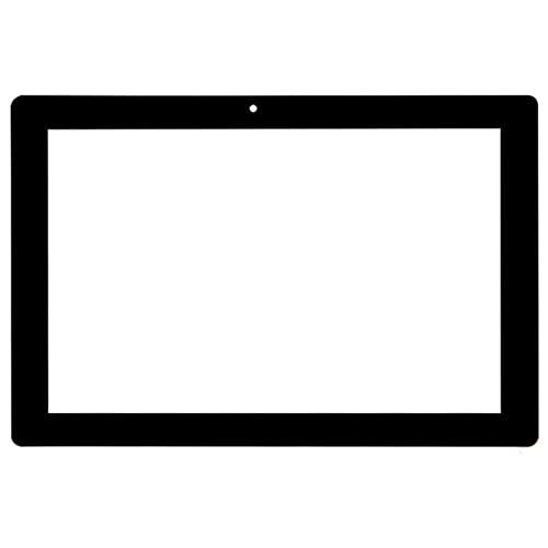 Reemplazo de pantalla para 10.1 pulgadas Polaroid Q1010 16 GB Tablet Externa capacitiva Pantalla táctil digitalizador Sensor Panel de reemplazo Multitouch (Color: Negro)