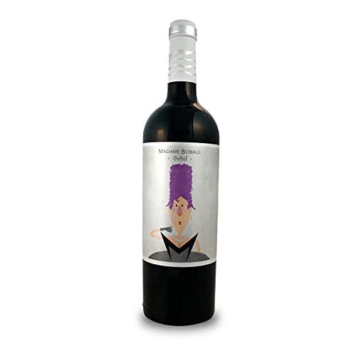 BODEGAS Y VIÑEDOS VOLVER   Vino Tinto Madame Bobalu   Pack de 6 Botellas   Cosecha 2019   Variedad Bobal   Vino de Valencia   Crianza de 6 Meses   Barrica Francesa  (6 Botellas de 750 ml)