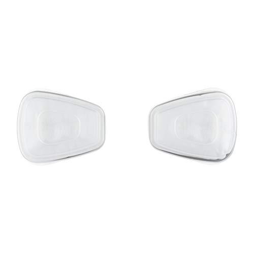 3M Ersatzfilter für Farbspritzarbeiten 6002CR – Austauschfilter mit Schutzstufe A2P2 für 3M Halbmasken für Farbspritz- & Maschinenschleifarbeiten – 1 Filter mit Doppel-Atemventil