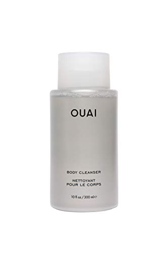 OUAI Body Cleanser. Nurture, Balance and Soften Skin. Made with Probiotics and Jojoba Seed, Rose Hip Oil to Hydrate Skin. Free from Parabens, Sulfates SLS and SLES and Phthalates. (10 oz)