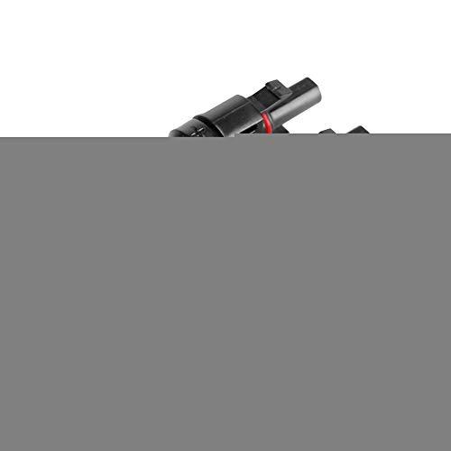 Panel solar FV Cable Cable hembra conector hembra Conectores a prueba de agua Paralelo Clip Clip Negro para MC4-3T