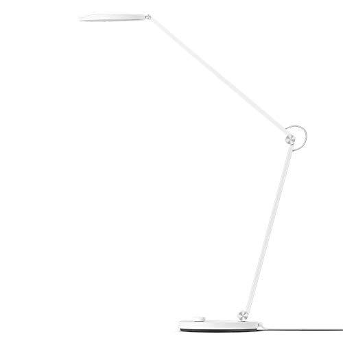 Xiaomi Mi Smart LED Desk Lamp Pro, Lampada da Scrivania Smart, Controllo Vocale, Design Elegante, Indice di Colore Alto, Semplice e Intuitivo, Bianco, Versione Italiana