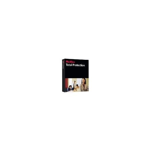McAfee Total Protection for Small Business Advanced- 10 User (PC CD)