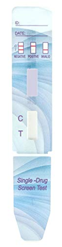 25 Tests Magenta Nicotine/Cotinine Dip Card Urine Test CLIA Waived & OTC Cleared