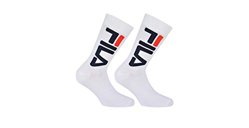 Fila F9632, Socken Uni, weiß, 35/38