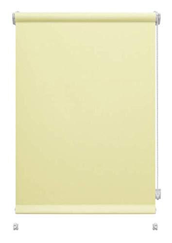 havalime GARDINIA Rollo zum Klemmen oder Kleben, Tageslicht-Rollo, Blickdicht, Alle Montage-Teile inklusive, EASYFIX Rollo Uni (Sand, 57 x 150 cm)