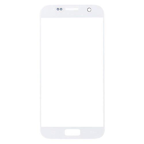 zNLIgHT Interne Telefoon Onderdelen | UV Lijm Voorste Glas Scherm Vervanging Reparatie Kit voor Samsung Galaxy S7 G930, OneSize, Kleur: wit