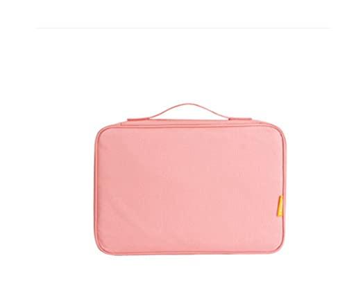 SDLSH Accesorios De Billetera, Documentos de Viaje Organizador Accesorios, Pasaporte Funda Billetera, Documento Creativo Caso Organizador, Accesorios De Bolso De Bricolaje (Color : Pink)