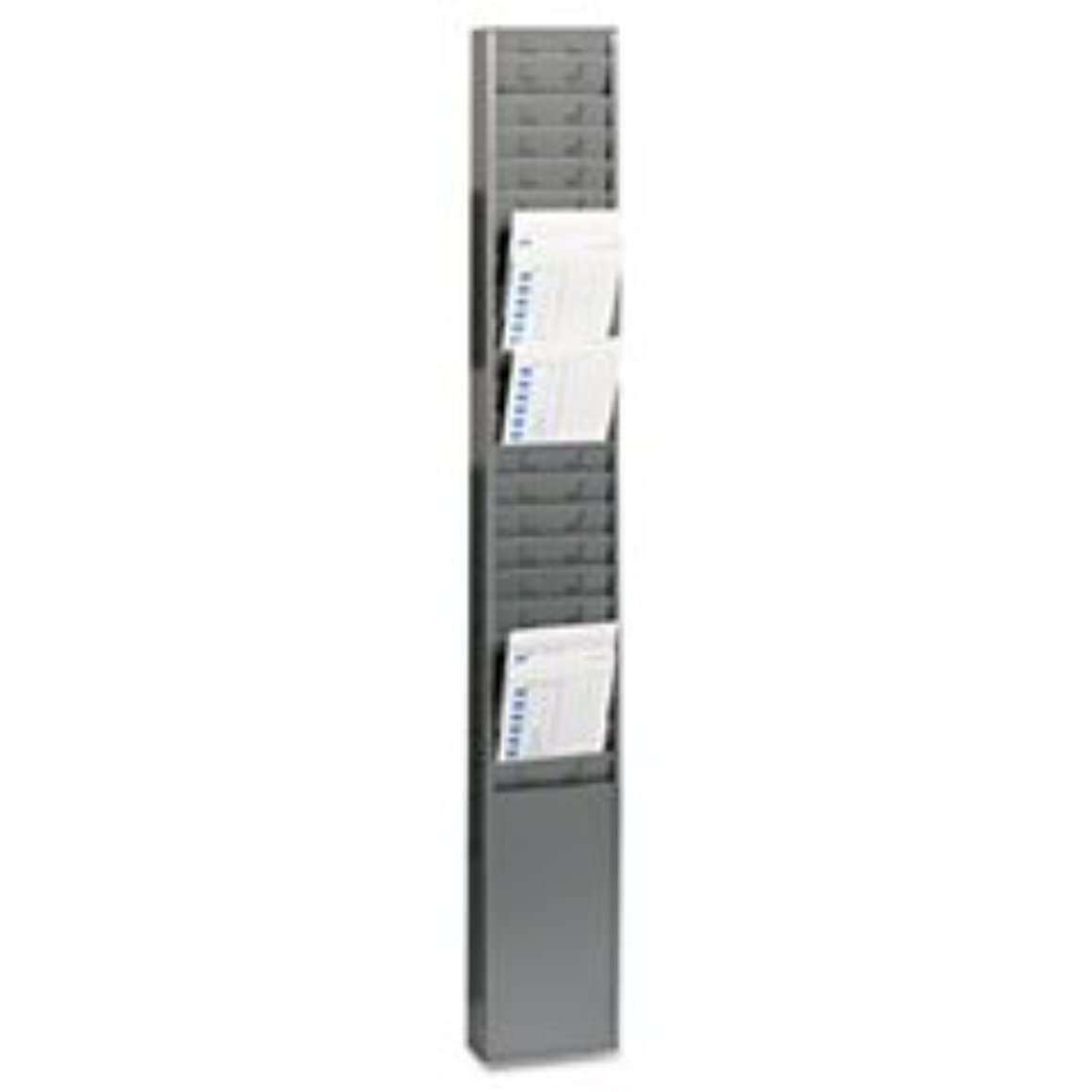 * Steel Time Card Rack with Fixed 4 1/2 x 5 Pockets