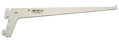 Element-System 10105-00401 Träger PRO 10105, Länge 300 mm, Stahl weiß (ähnlich RAL 9003)