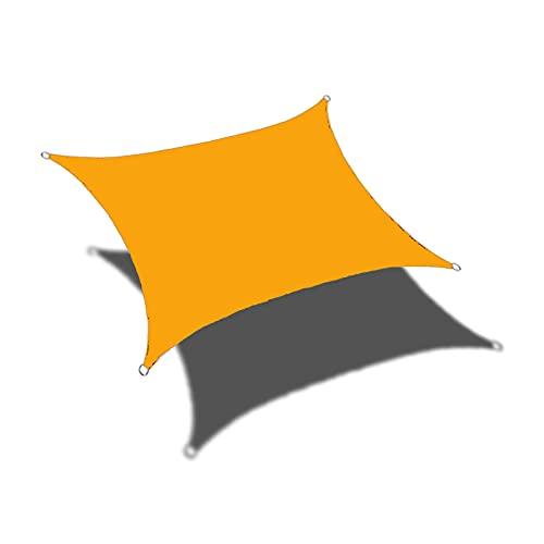 YUOPL Sonnensegel im Freien, rechteckiges Sonnensegel aus Sand, Überdachung für Terrassen-Hinterhof-Rasen-Garten-Outdoor-Aktivitäten, kommerzielle Hochleistungs-