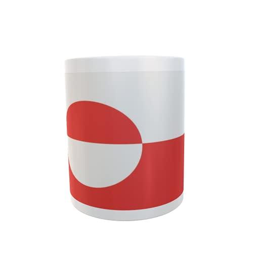 U24 Tasse Kaffeebecher Mug Cup Flagge Grönland