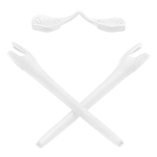 Mryok Replacement Earsocks Nosepieces Kits for Oakley Radar EV Series Sunglass - White