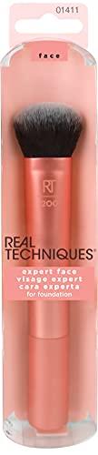Real Techniques Pincel para Aplicação de Base Expert Face Brush, cores aleatorios