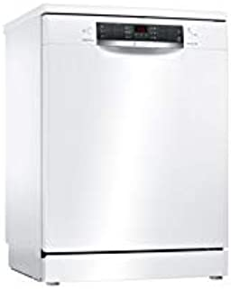 Bosch Free Standing Dishwasher, 6 Litres, White, SMS46MW10M