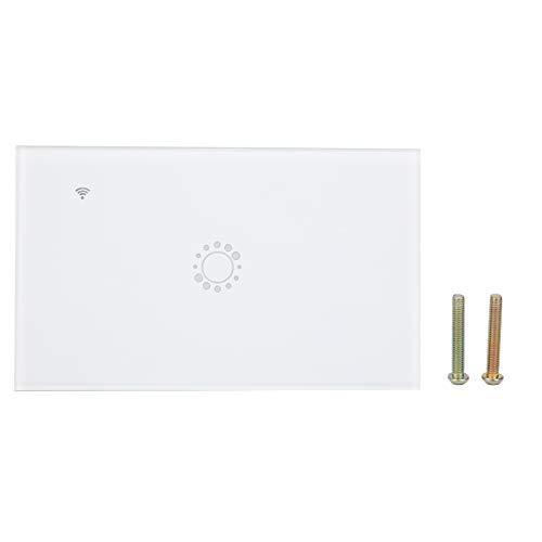 Interruptor de Luz Inteligente, Control Remoto de ;a Aplicación Wifi Para Smart Life/Ewelink Wireless Touch Smart Wifi Switch Funciona con Alexa/Google Home