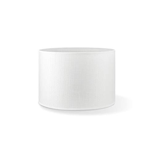 Pantalla redonda | Canvas | Pantalla de lámpara | Pantalla de forma recta | diámetro de 30 cm altura de 20 cm |