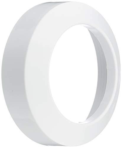 Rosette für Anschlussbogen / -rohr | Weiß | WC, Toilette