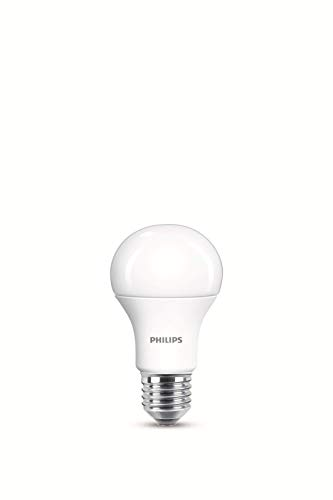 Philips Lighting 929001234561 Philips Lighting Lampadina LED, Warm White Goccia, Attacco E27, 13 W Equivalenti a 100 W, 2700K, Blister Doppio, Bianco, 2 unità