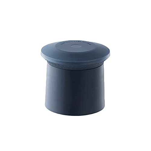 Fabricante de bolas de hielo de silicona de hielo de silicona con tapa, moldes de cubitos de hielo reutilizables para los cócteles de whisky, mantenga las bebidas enfriadas-3color (Color : Blue)