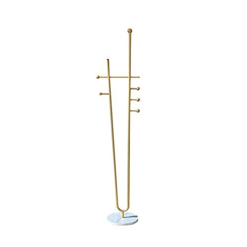 JIAO PAI Hierro Arte Escudo Ganchos, Nordic Estilo Vertical Escudo Bastidores Pasillo de la Entrada Ropa Perchero Estante del Soporte de la Vendimia (Color : B, Size : 180 * 40CM)