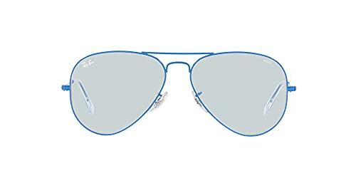 Gafas de Sol Ray-Ban AVIATOR LARGE METAL RB 3025 EVOLVE LENSES Light Blue/Grey To Dark Violet 58/14/135 unisex