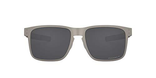 Oakley Holbrook Metal 412309 Gafas de sol, Plateado, 55 para Hombre