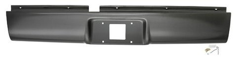 IPCW CWRS-94S10 Chevrolet S10/S15 Steel Roll Pan with License Plate Hole and Light