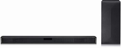 LG SL4Y DTS Virtual:X, 2.1 Soundbar (300W mit drahtlosem Subwoofer) schwarz, Ohne HDMI