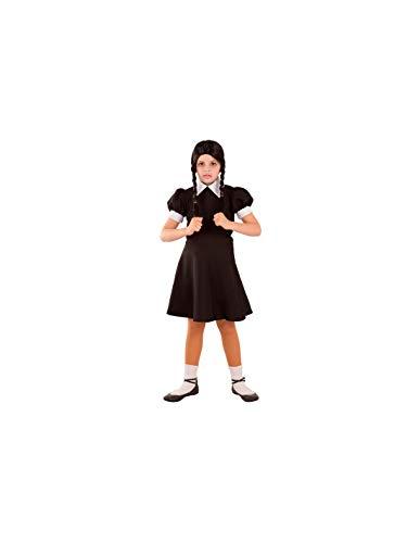 DISBACANAL Disfraz de Miércoles para niña - -, 12 años
