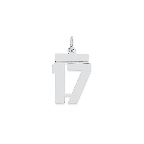 number 17 necklace - 6