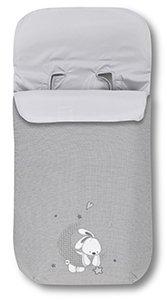 Pirulos Luna - Saco carro universal, color gris