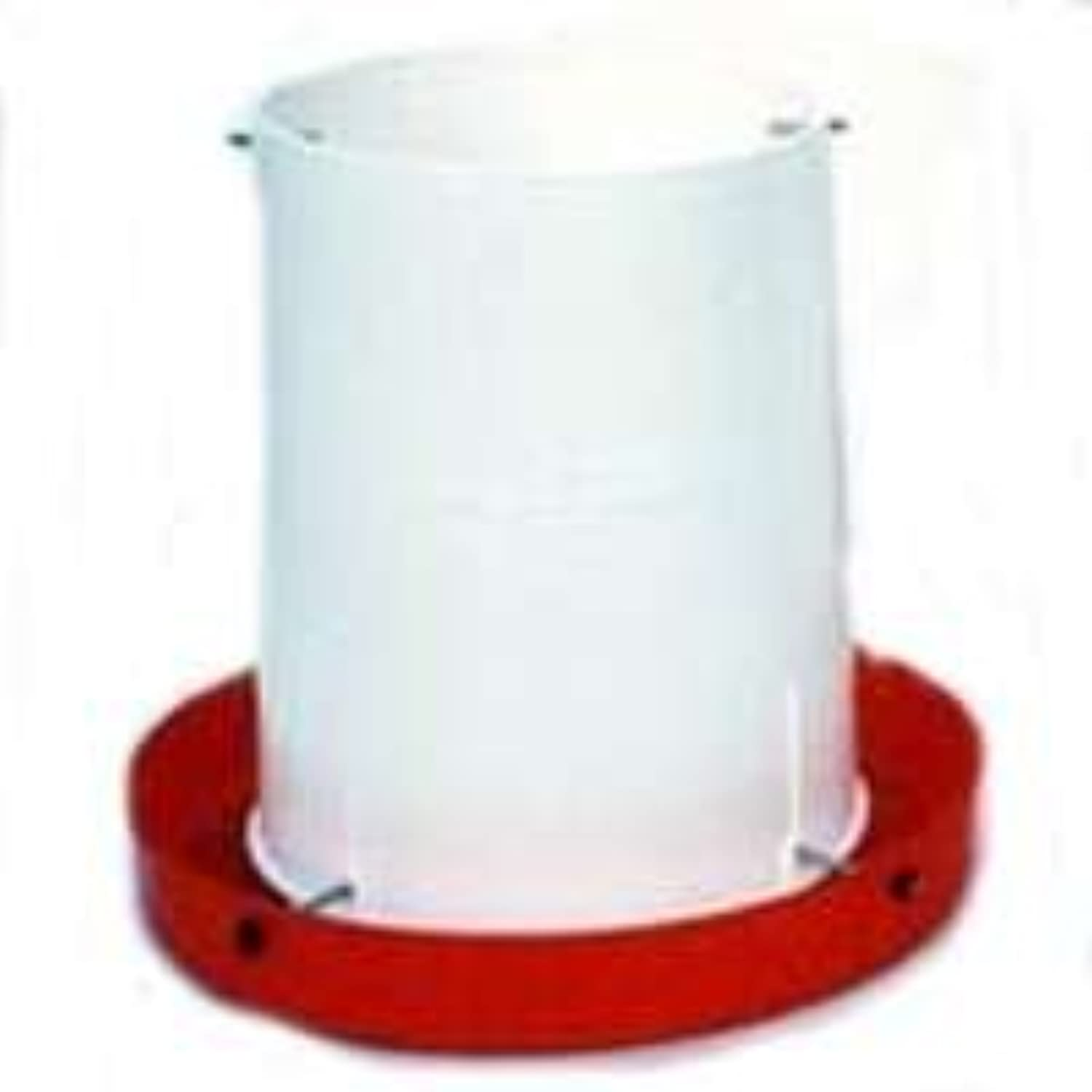 Brower Hf15 15Pound All Poly Poultry Hanging Feeder