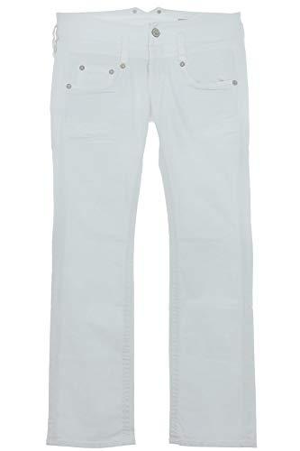Herrlicher, Pitch, Damen Damen Jeans Hose Stretchdenim Reinweiss W 32 L 30 [19282]