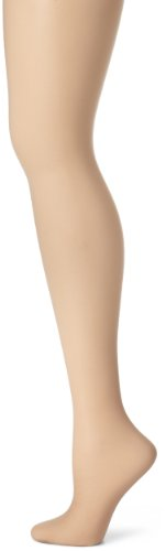 Hanes Women's Non Control Top Sandalfoot Silk Reflections Panty Hose, Soft Taupe, A/B
