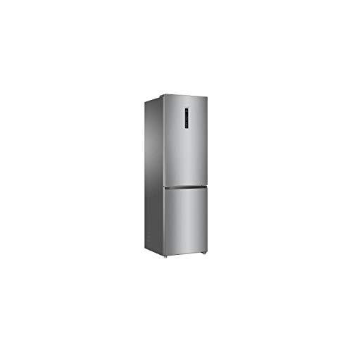 HAIER HRF-635CSHJ - réfrigérateur Combi no Frost Froid ventilé - 340L - A+ - L 60 cm - Silver