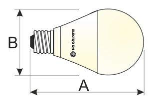 ElectroDH 81174CAL afzuigkap LED Globo G120 18 W. CAL