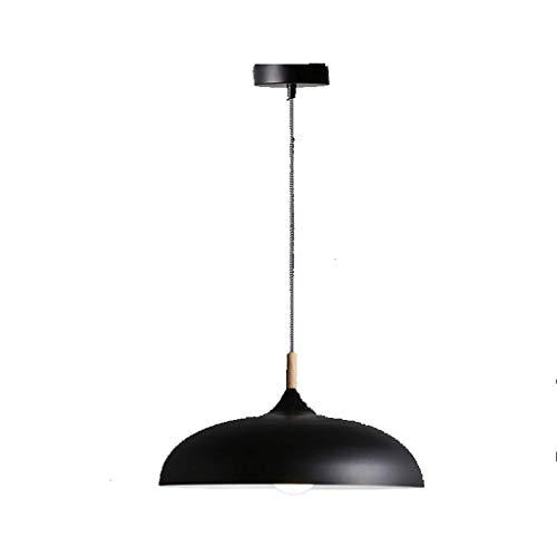 WEM Moderna y minimalista personalidad creativa Led restaurante individual luz dormitorio mesa de bar mesa de comedor candelabro para el hogar,Amarillo negro