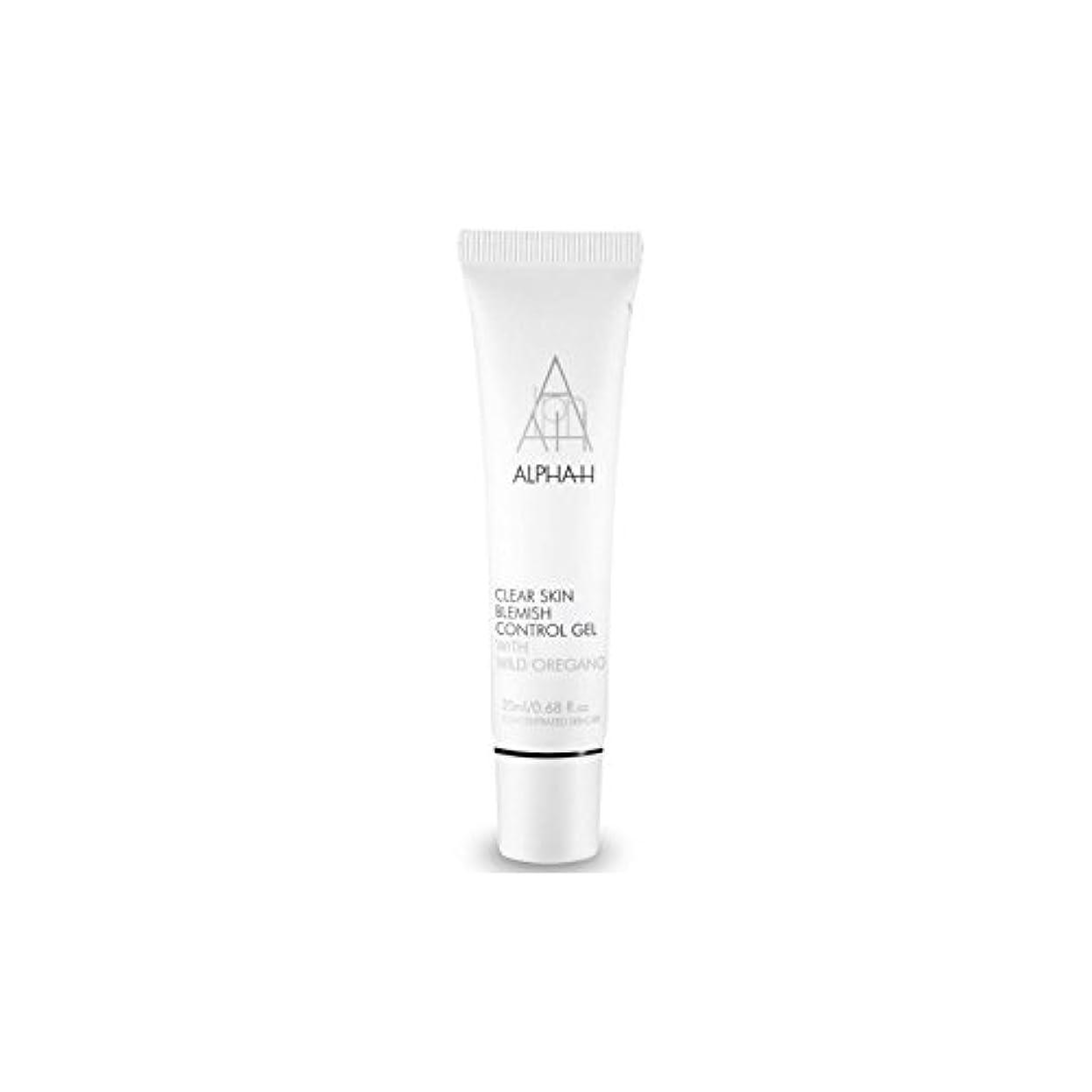 安定した雇うでAlpha-H Clear Skin Blemish Control Gel (20ml) (Pack of 6) - アルファクリア皮膚傷制御ゲル(20)中 x6 [並行輸入品]
