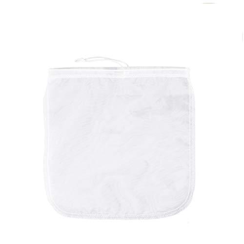 200μm Nut milk bag,OUNONA bolsa para hacer leches vegetales,bolsa para hacer queso, zumos vegetales, arroz, semillas.etc,100% Nylon Perfecto como colador