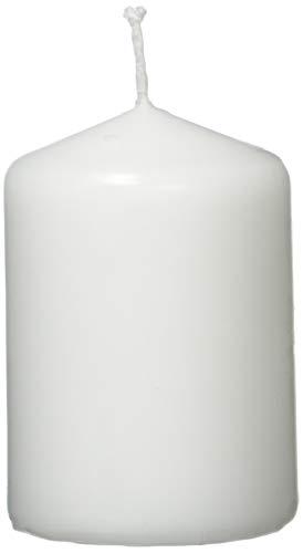 Jeden Tag 2 Stumpenkerzen 80x55mm weiß, 289 g