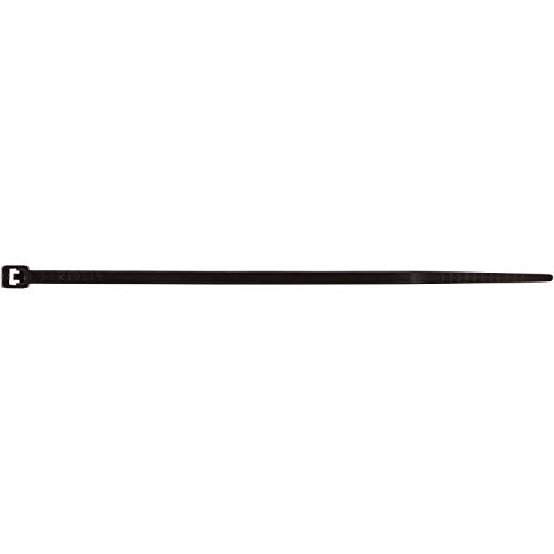 Morris Products Ultraviolet Black Nylon Cable Ties