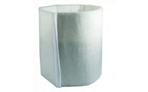 Weedness Aktivkohlefilter Filterstrumpf 800 m³/h - AKF Rohrlüfter Grow Anbau Indoor Belüftung Geruchsfilter Abluftfilter Grow Filter Klima Set