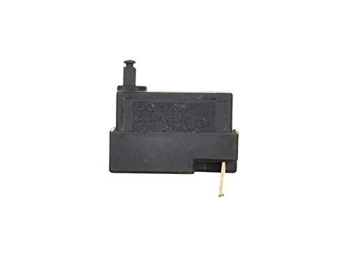 Ersatz Taste Schalter Switch, Ersatzschalter für Winkelschleifer - Model: HLT-125B - 6A 250V/12A 125V - Kompatibel mit 115/125mm Winkelschleifer Black&Decker KG65,KG72,KG90