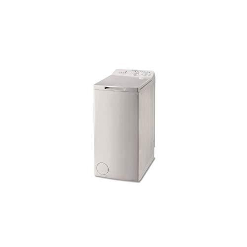 Lave llinge à chargement par le dessus INDESIT BTWA61253FR - Lave-linge top 6Kg - largeur 40 cm - blanc - Essorage 1200 tr/min - 5 programmes rapides - Tambour inox 42 litres