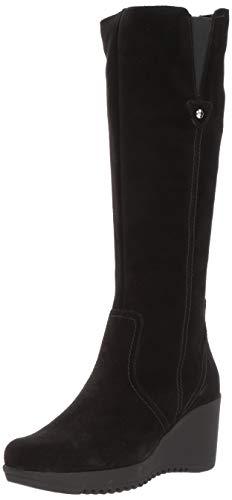 La Canadienne Women's Grace Knee High Boot, Black, 7 M US