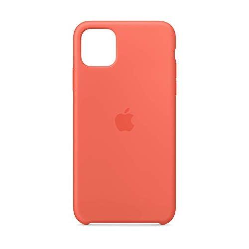 Apple Custodia in Silicone (per iPhone 11 Pro Max) - Mandarancio (Arancione)